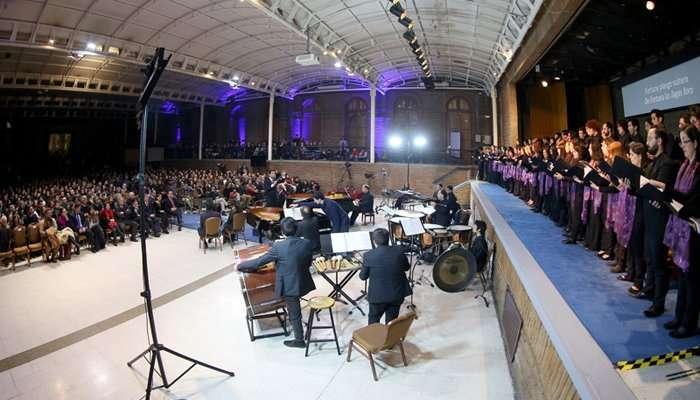 UC inicio celebraciones por aniversario 131 con Carmina Burana 3
