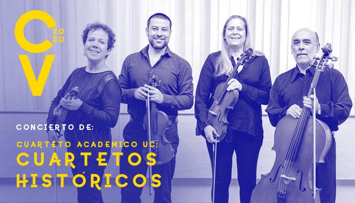 Primer concierto CV Cuarteto