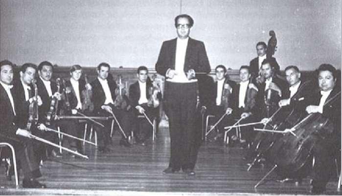 rosas orquesta camara uc 1970