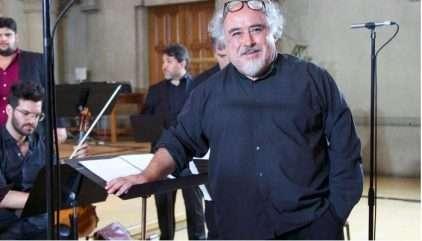 Víctor Alarcón (1958-2018) fue una figura central de la música coral en Chile. Foto: Félix Rodríguez.
