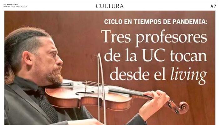 El Mercurio David Nunez