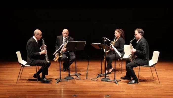 cuarteto saxofones oriente